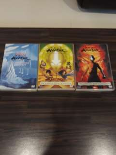 Complete set of Avatar-the legend of aang