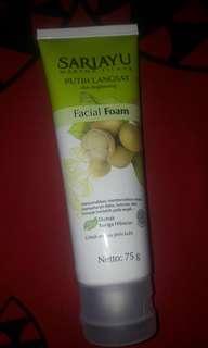 Sariayu Putih Langsat Facial Foam