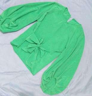 Menisa blouse panjang