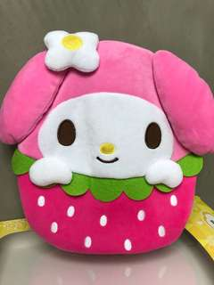 My Melody Plush Cushion 咕𠱸 暖水袋