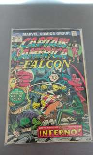 Captain America Bronze age comics