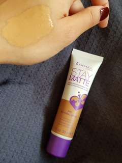 Rimmel Stay Matte Foundation- Natural Beige