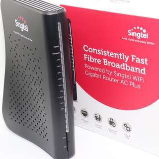 BNIB Singtel AC Plus Wireless Router & Access Point