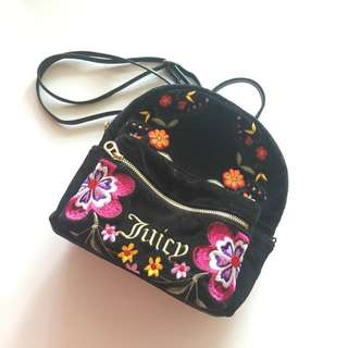 *Auth* Juicy Couture mini backpack