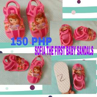 Sofia Baby Sandals