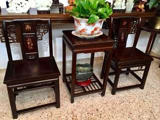 A set of ningbo chair!