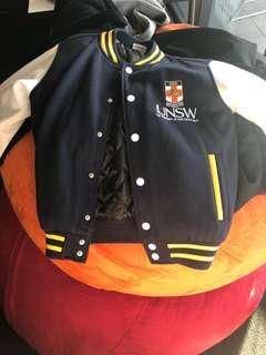 UNSW Bomber Jacket size 8