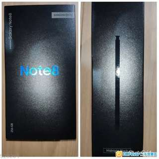 Samsung Note 8 256GB Black