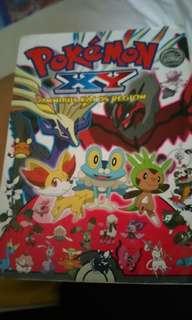 Pokemon XY Omnibus Kalos Region.