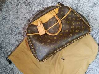 REPRICED | Original Louis Vuitton Monogram Deauville Purse Handbag