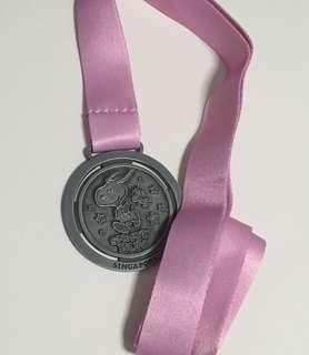 Snoopy Run 2018 medal