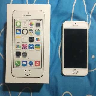 iPhone 5s 金色16gb