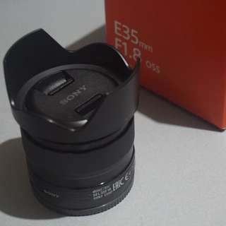 Sony Lens 35mm f1.8 for E-mount (SEL35F18)
