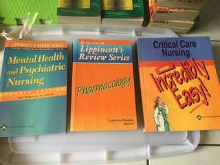 Nursing Books FOR SALE!!