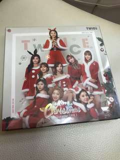 Twice Christmas Edition 淨專 送飯卡