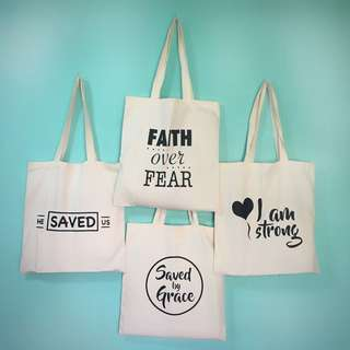 Statement tote bag for everyday use!