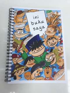 Lat collectible notebook