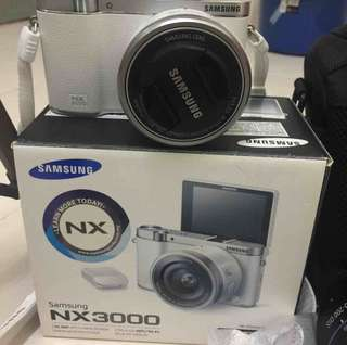 Nx3000 camera and a additional 50-200mm telescopic lens