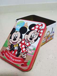 Tokyo Disney resort empty box