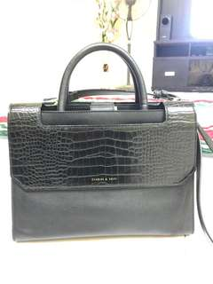 CHARLES & KEITH TWO WAYS HANDBAG