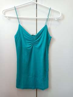 Jennyfer Blue Green Tank Top