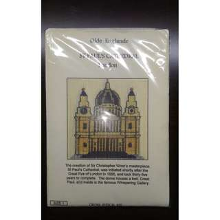 聖保羅大教堂刺繡材料包