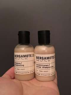 Le Labo Shampoo and Conditioner - Bergamote 22 50ml