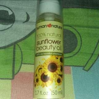 Human Nature 100% Natural Sunflower Oil