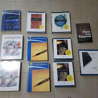 Textbooks (Used) - NUS Syllabus