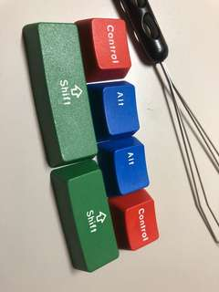 RGB 二色鍵帽 (不掉字!😊)