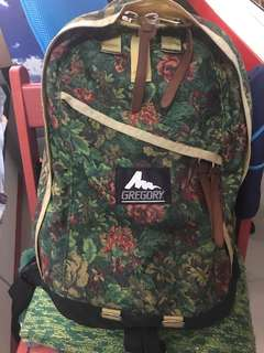 Gregory daypack 黃花