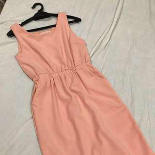 Fashion Champaign Dress