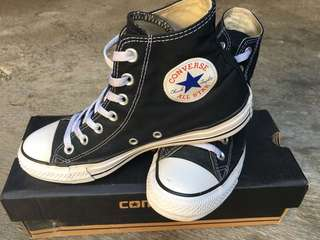 Converse CT Black White High