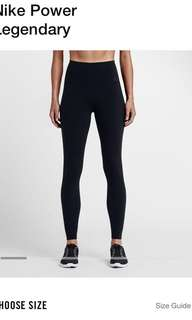 nike gym leggings