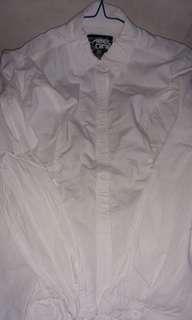 White T-Shirt Original Design Label Nine