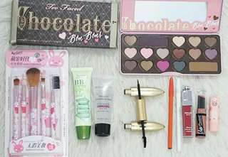 PAKET CHOCHOLATE TOO FACED