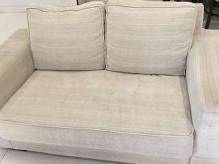 Fabric Sofa 2 seater great value!