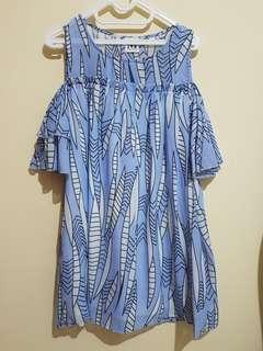 Floral Semi Sabrina Dress