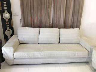 Fabric sofa 3 seater great value!