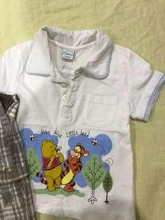 Winnie the Pooh baby Disney clothes (6-12mths)