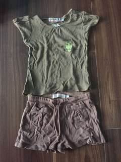 Bless Giving away Free Foc Fox Kids Top Shorts Outfit