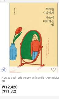 How to deal with a rude person with a smile book