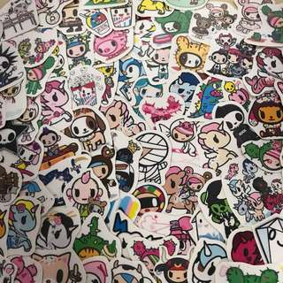 Tokidoki stickers
