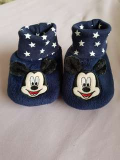 (PL) Mothercare Mickey Mouse Soft Shoes