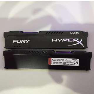 Original HyperX Fury RAM (Heatsink Only) - RM20/unit
