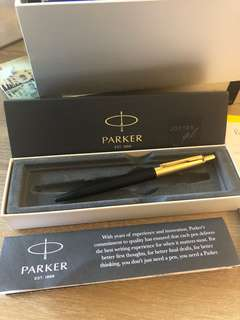 Parker Jotter Premium Gold Trim Ballpoint#Made in France