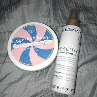 Skingenie sunscreen and candy wax bundle