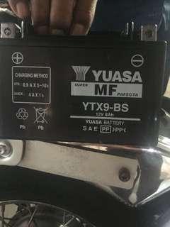 Yuasa Honda shadow battery