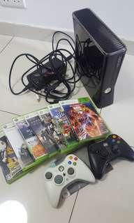 XBOX360(8成新,2手制,7隻game )