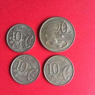 Old Australia Coins